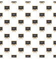 chalk board on tripod pattern vector image