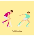 Sport people activities vector image