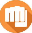 Fist Icon vector image