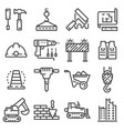 building construction and home repair vector image