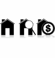 Buying a house vector image