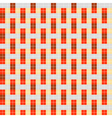geometrical pattern with rectangles vector image