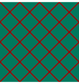 Red Grid Chess Board Diamond Green Background vector image