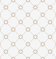 Geometric seamless pattern with stylized stars in vector image vector image