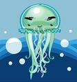 JellyfishCartoon vector image