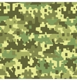 Military camouflage - seamless background vector image