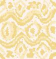 albino snake skin vector image