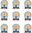 Boss Doodle vector image vector image