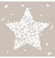 natural star vector image vector image