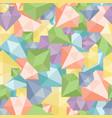 pastel diamond seamless pattern abstract luxury vector image