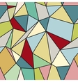 Geometric Abstract Seamless Polygonal Background vector image vector image
