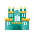 Castle Princess Flat Design Style vector image