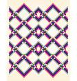 geometric pastel colors background vector image