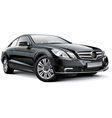 Germany compact executive car vector image vector image
