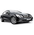 Germany compact executive car vector image