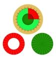 infographic pie chart vector image