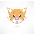 Surprised cat vector image