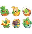 St Patricks Day symbols vector image vector image