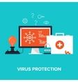 Antivirus System vector image vector image