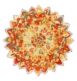 Mandala for coloring book Decorative round vector image