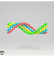 Spiral 3d Template Abstract vector image