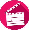 Clapboard Icon vector image