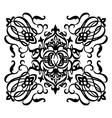 Ornamental motif vector image vector image
