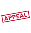 Appeal rubber stamp vector image