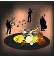 Jazz band vector image