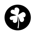 Saint patricks clover icon vector image