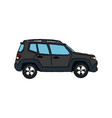 suv car vehicle luxury compact image vector image