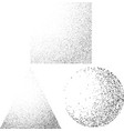 abstract black and white passing dotted shadow vector image