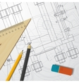 Engineer or architect vector image