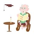 Happy grandparents day design vector image