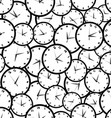 Seamless pattern with watches vector image vector image