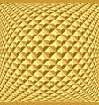 golden relief pattern vector image