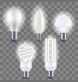 realistic detailed fluorescent and electric light vector image