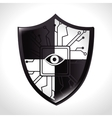 Security system and surveillance vector image