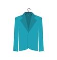 jacket femenine icon image vector image