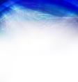 Technology futuristic swirl blue background vector image