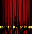 abstract theatre applouse vector image