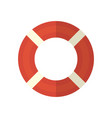 life ring icon on isolated background vector image