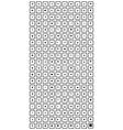 black 200 universal icons set vector image vector image