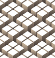 cubes 3d seamless pattern vector image
