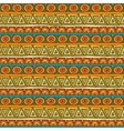 Seamless red orange and green color ornament from vector image