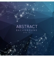 Abstract polygonal backgroun Low poly design with vector image