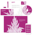 identity grass pattern vector image