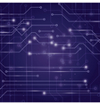 circuit board vector image
