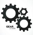 gear cogs vector image