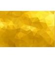 Mosaic Golden glitter templates vector image
